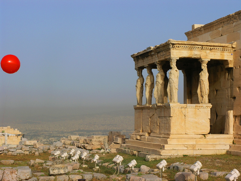 Acropolis of Athens, Erechtheum <br />