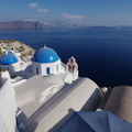 Santorini. Oia, White city