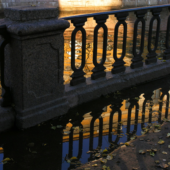 St Petersburg. The Raing of Griboyedov Canal <br />