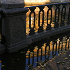 St Petersburg. The Railing of Griboyedov Canal