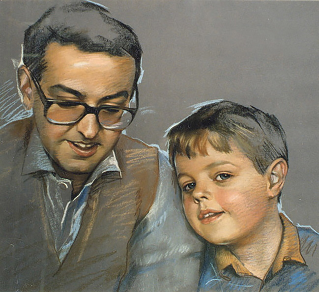 Father and a Son.<br />