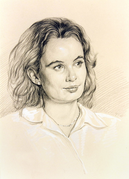 Portrait of a young woman<br />