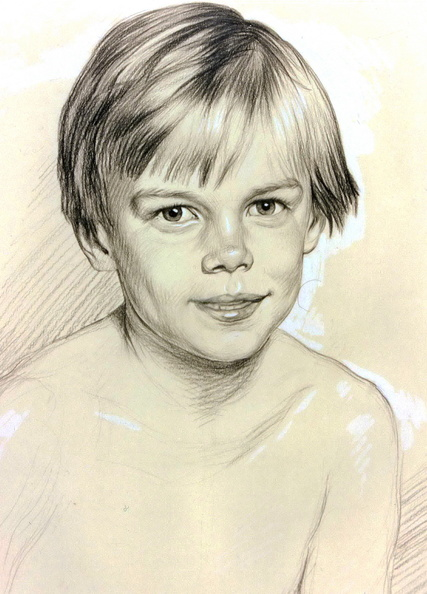 Portrait of a young boy<br />